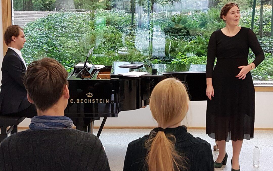 Alexander Ventegodt & Lykke Appelon tyvstartede kulturnatten i Pianoteket