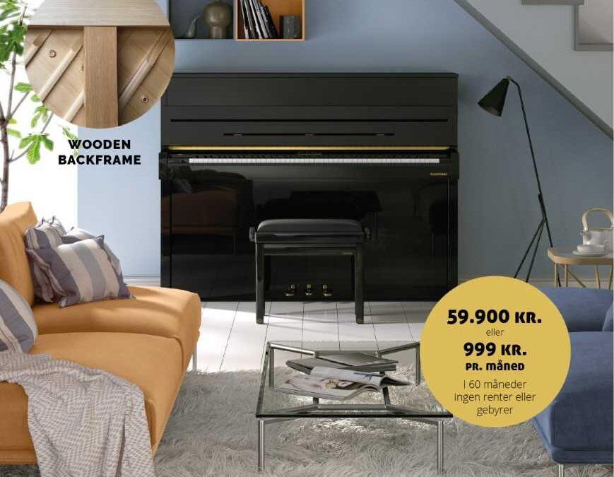 NYHED! OPLEV W. HOFFMANN VISION V2 I PIANOTEKET